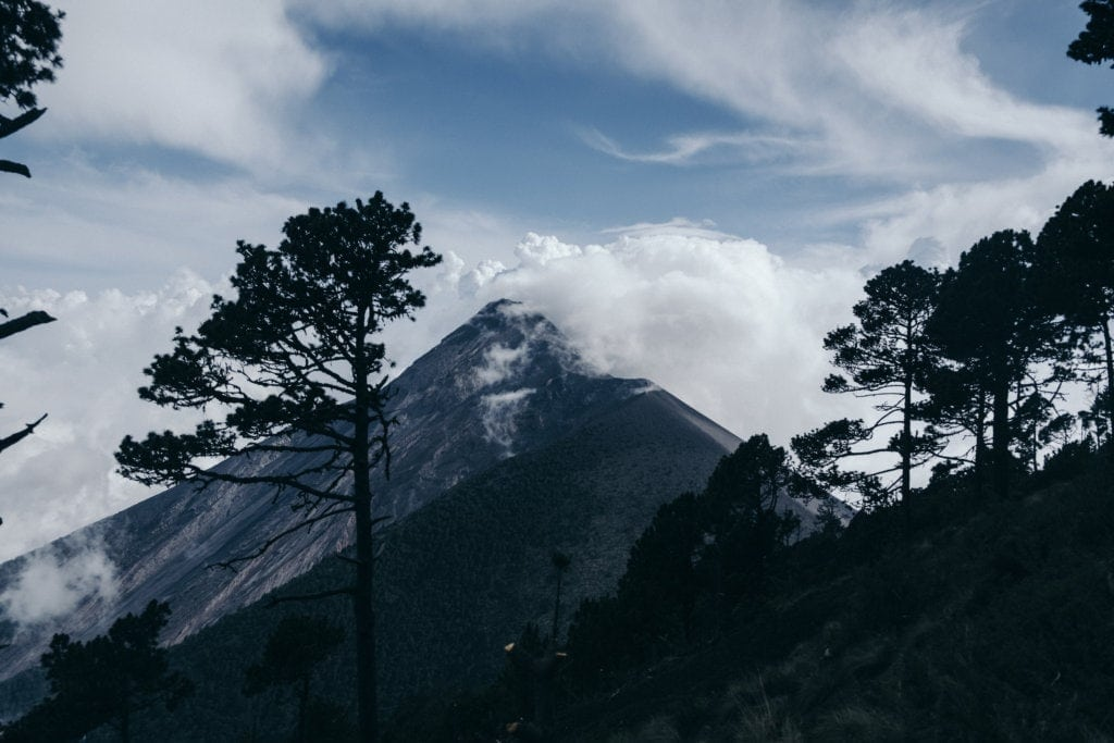 PUFFENDE VULKANEN | BEKLIM VOLCAN ACATENANGO IN GUATEMALA 2