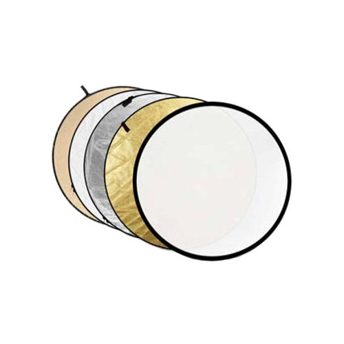 Reflectiescherm Caruba 5-in-1 Gold, Silver, Sunyellow, White, Translucent - 80cm 4