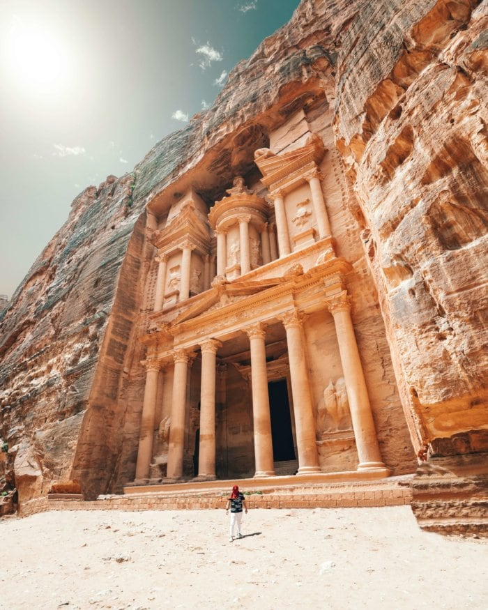 Petra, Jordanie - Rocky Roads Travel
